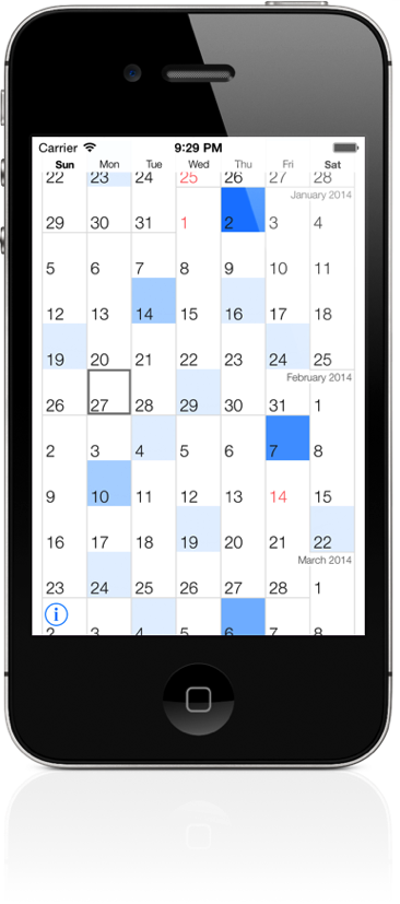 Scrollendar screenshot